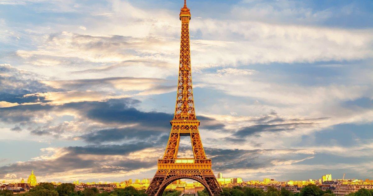 フランス風景エッフェル塔