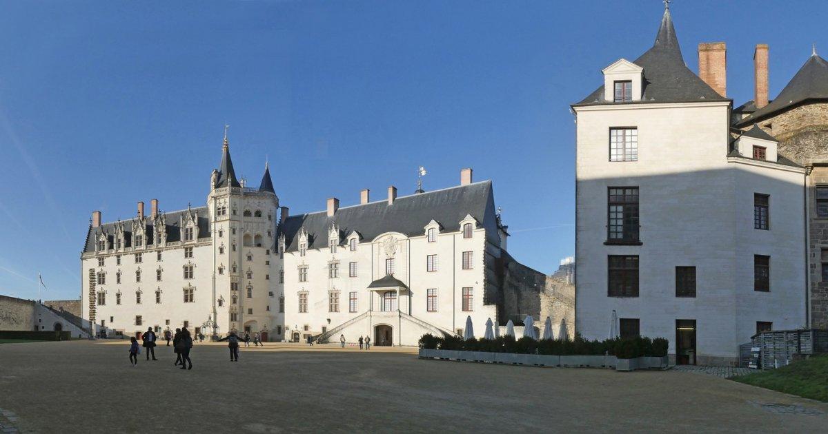 ロワール風景ナントの城
