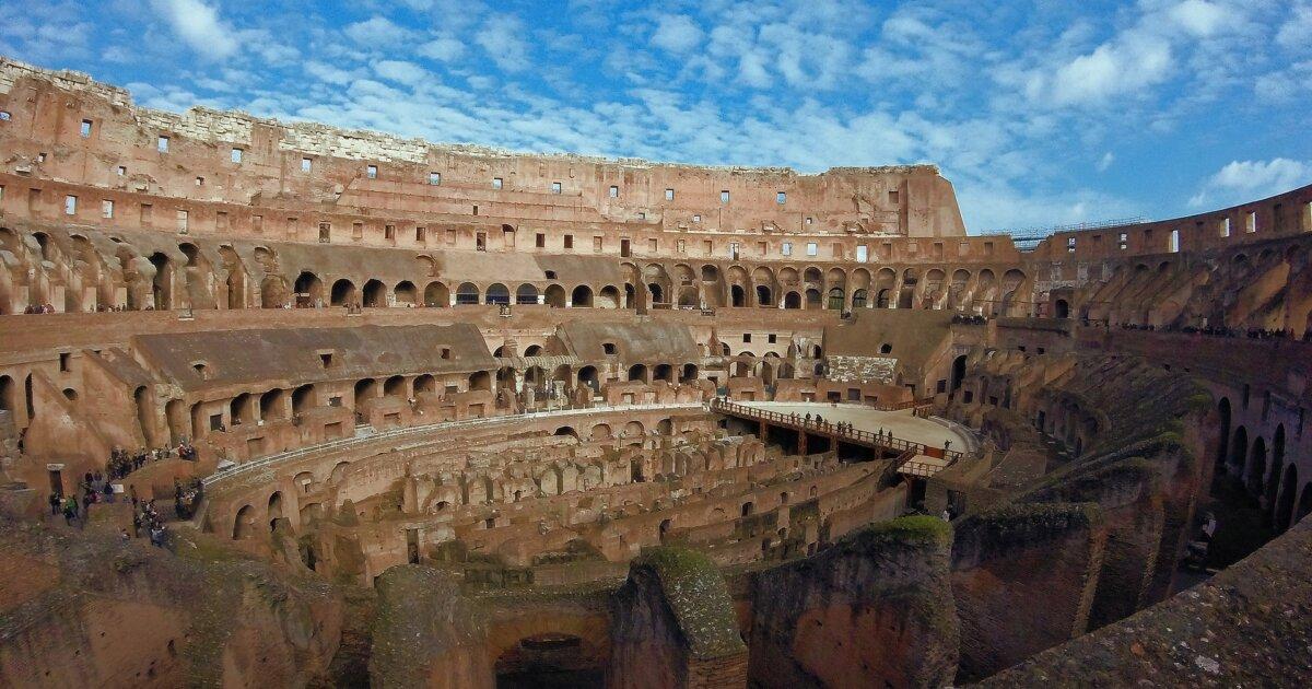 イタリアローマコロッセオ