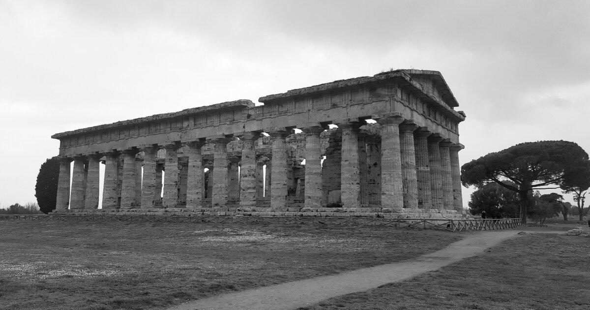 ギリシャ神殿パエストゥム